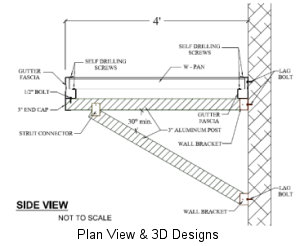 Plan View & 3D Designs